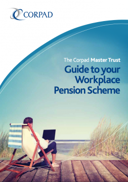 Corpad Master Trust Pension Scheme Guide