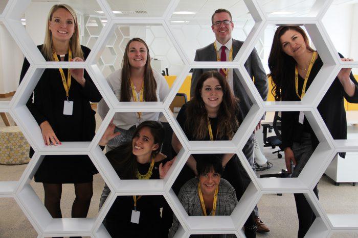 Hive360 - Buzzing honeycomb