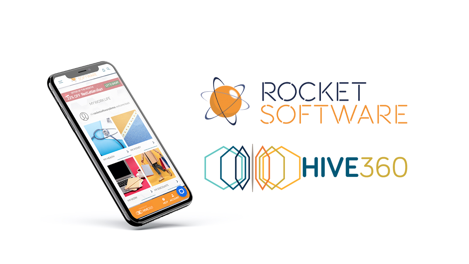 HIVE360 & Rocket Software Engage App